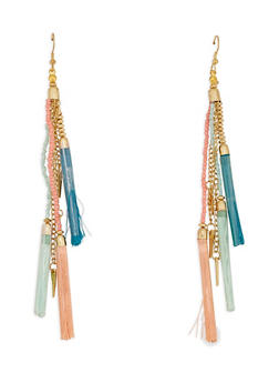 Tassel Drop Earrings - 3122018434530