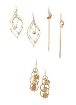 Chandelier Earring Trio - 3122071432019