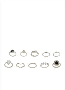 Assorted Ring Set - 3123035153938