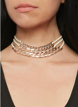 Layered Curb Link Choker - 3123057690447