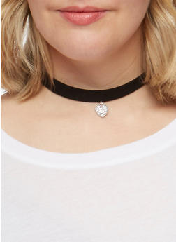 Set of 9 Assorted Chokers and Stud Earrings - 3123062928197