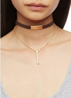 Tiered Charmed Choker - 3123072695564