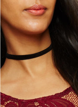Mesh and Crochet Choker Trio - 3123072696701