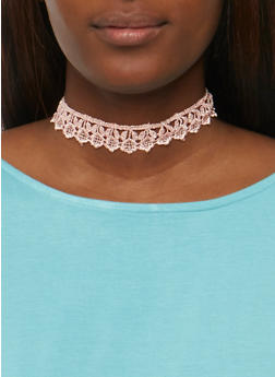 Assorted Blush Choker Set - 3123072696709