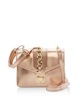 Mini Crossbody Bag with Chain - 3124040320523