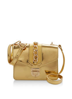 Mini Crossbody Bag with Chain - 3124040320523