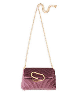 Chevron Quilted Crossbody Bag - 3124040320563