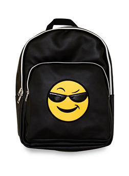 Sunglasses Emoji Graphic Backpack - 3124040322900