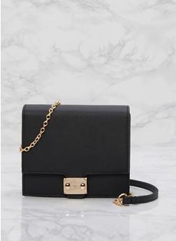 Mini Box Crossbody Bag - 3124041651672