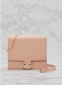 Mini Box Crossbody Bag - 3124041651672
