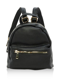 Mini Zip Backpack - 3124067440076
