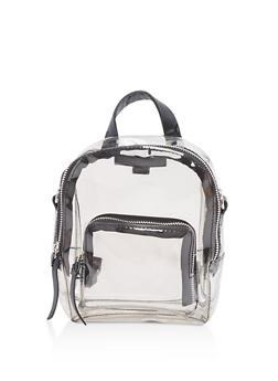 Clear Mini Backpack - 3124067441148