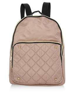 Large Nylon Backpack - 3124073409860