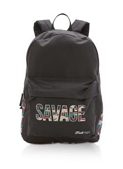 Savage Camo Nylon Backpack - 3124074130105