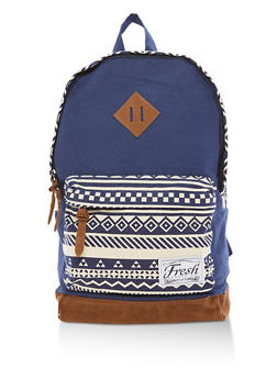 Aztec Print Backpack - 3124074139901