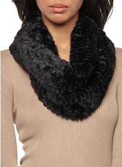 Faux Fur Infinity Scarf - 3125041650901