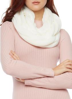 Knit Infinity Scarf - 3125041651813