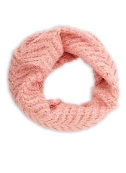Zig Zag Knit Scarf - 3125041652291