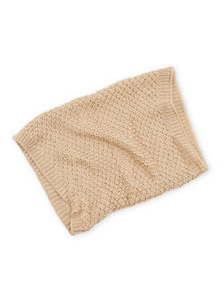 Honeycomb Knit Scarf - 3125067443621