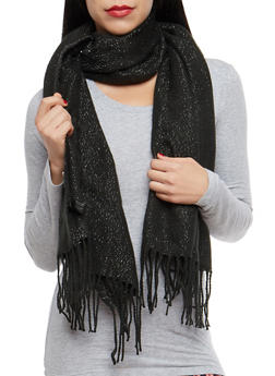 Shimmer Knit Scarf - 3125067443708