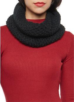 Honeycomb Knit Scarf - 3125067446213