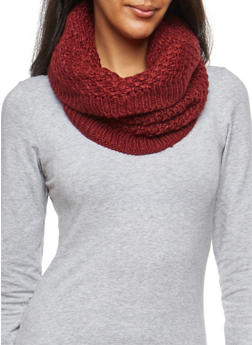 Honeycomb Knit Scarf - 3125067446213