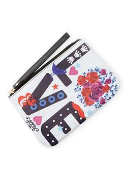 LOVE Graphic Wristlet - 3126067447045