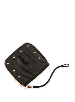 Studded Square Wallet - 3126073401052