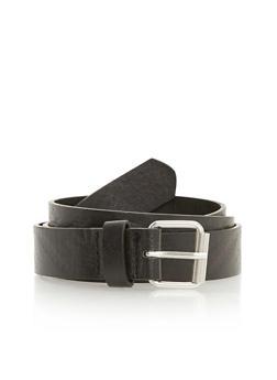 Aztec Embossed Faux Leather Belt - 3128073330822