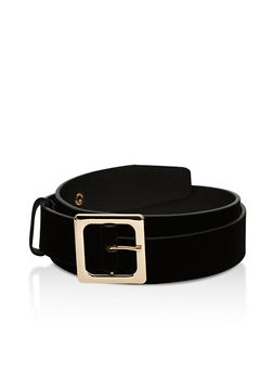 Plus Size Velvet Belt - 3128073335191
