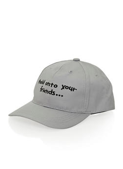 Hat with Hold Onto Your Friends Design - 3129041658844