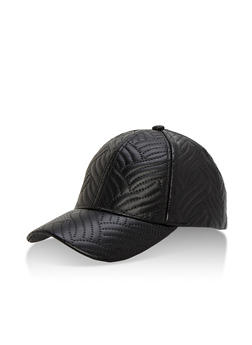 Embossed Pattern Baseball Cap - 3129067440307