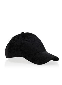 Crushed Velvet Baseball Cap - 3129067440761