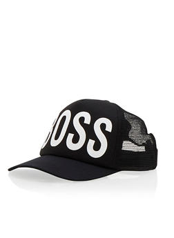 Boss Trucker Hat - 3129067441960