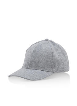 Solid Baseball Hat - 3129067442306