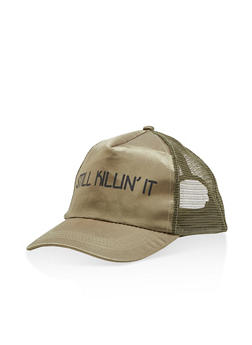 Still Killin It Graphic Trucker Hat - 3129067443070