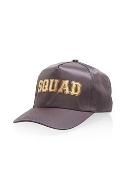 Squad Satin Baseball Hat - 3129067443907