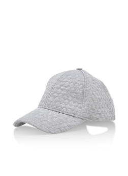 Quilted Diamond Baseball Cap - 3129067444660
