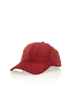 Quilted Faux Suede Snapback Hat - 3129067446033