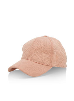 Stitched Pattern Baseball Cap - 3129067447015