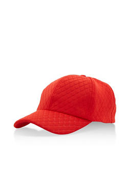 Quilted Baseball Cap - 3129067447018