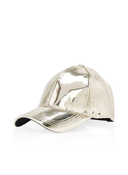 Mirrored Baseball Hat - 3129067447022