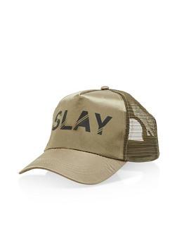 Slay Graphic Trucker Hat - 3129067447030