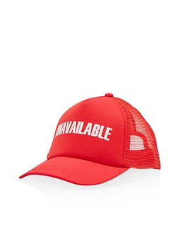 Unavailable Trucker Hat - 3129067447031