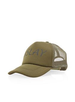 Hashtag Slay Trucker Hat - 3129067447034