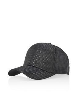 Shimmer Stitch Baseball Cap - 3129067447076