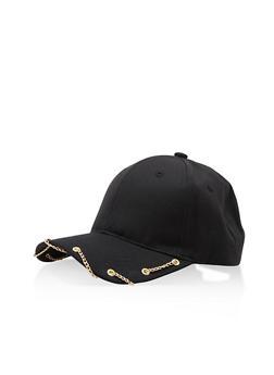 Chain Link Baseball Cap - 3129067447086