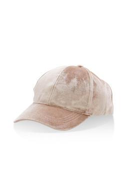 Velvet Baseball Hat - 3129067447115