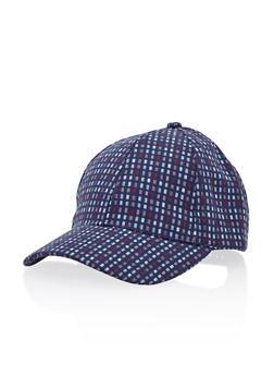 Baseball Hat in Geo Print - 3129067448406