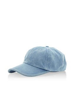 Denim Baseball Cap - 3129072345006